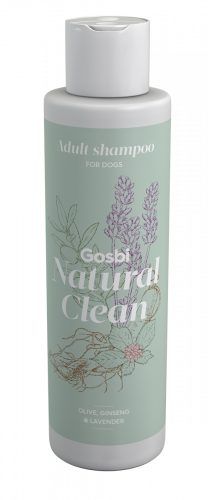 Шампунь GOSBI Natural Clean из натуральных компонентов для взрослых собак