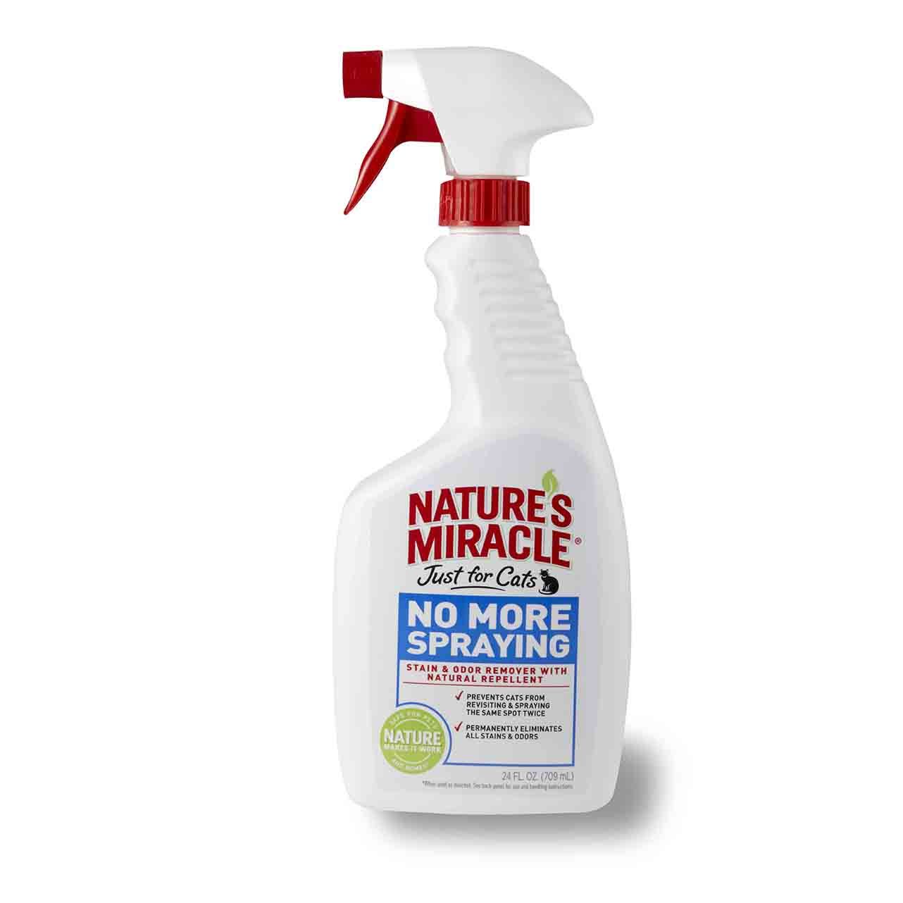 Спрей-антигадин Nature's Miracle JFC No More Spraying Stain&Odor Remover для кошек