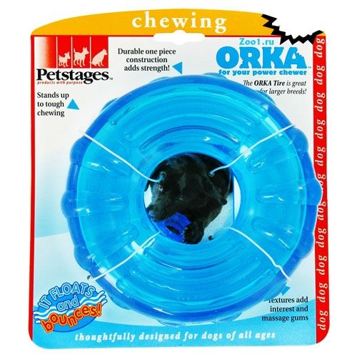 Игрушка Petstages ORKA Tire. Кольцо для собак (16 см)