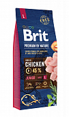 Сухой Корм Brit Premium By Nature Junior Large для молодых собак крупных пород с курицей
