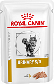 Паучи Royal Canin Urinary S/O для кошек при МКБ паштет