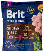 Сухой Корм Brit Premium By Nature Junior Mini для молодых собак мелких пород с курицей