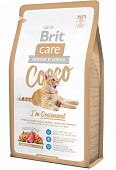 Корм Brit Care Cat Cocco Gourmand беззерновой для кошек-гурманов с уткой и лососем
