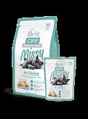 Корм Brit Care Cat Missy for Sterilised для стерилизованных кошек с курицей и индейкой