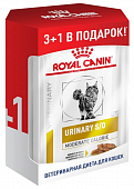 Паучи Royal Canin Urinary S/O Moderate Calorie для кошек при МКБ 3+1