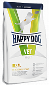 Корм Happy Dog Vet Renal для собак. Ветеринарная диета при почечной недостаточности